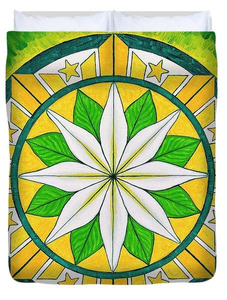 Blessings Of Kapayapaan/bendiciones De La Paz Duvet Cover