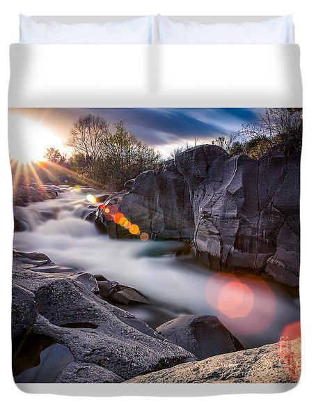 Blinded Duvet Cover by Giuseppe Torre