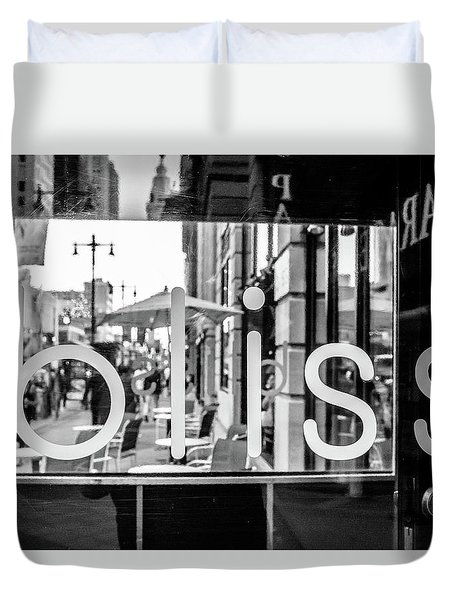 Duvet Cover featuring the photograph Bliss by David Sutton