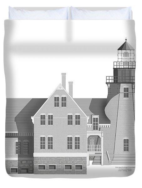Block Island South East Rhode Island Duvet Cover by Anne Norskog