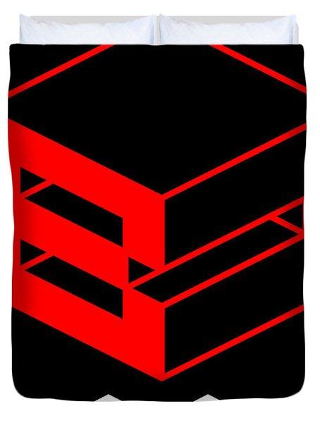 Blok Poster Duvet Cover