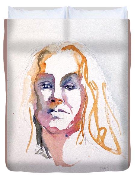 Blonde #1 Duvet Cover