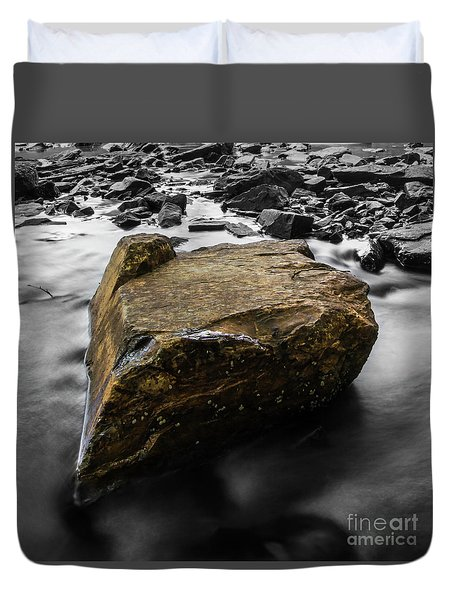 Blonde Rock Duvet Cover
