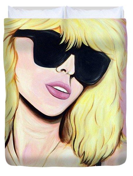 Blondie-debbie Harry Duvet Cover