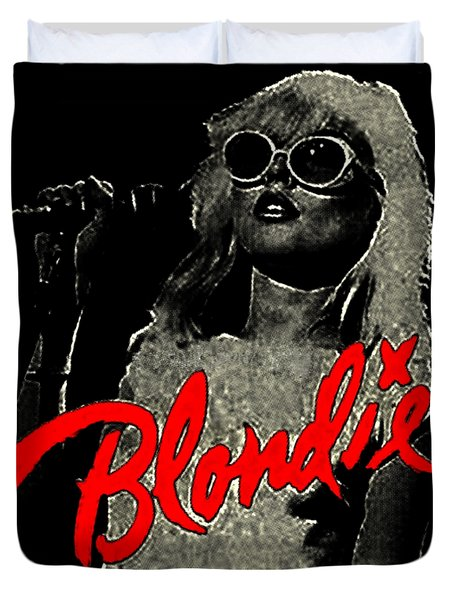 Blondie Duvet Cover