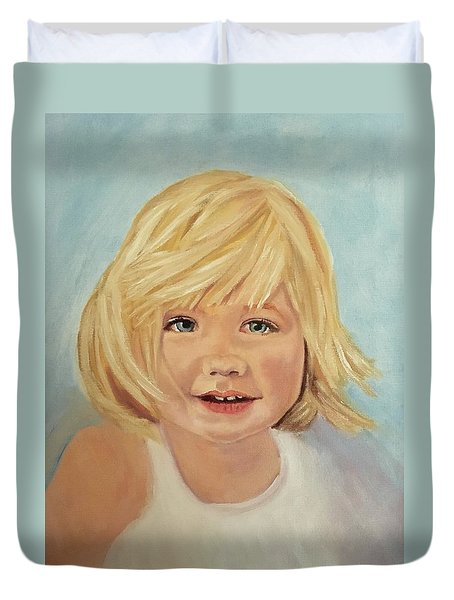 Blondie Duvet Cover