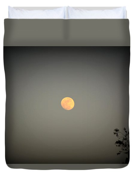 Blood Moon Duvet Cover by Nature Macabre Photography