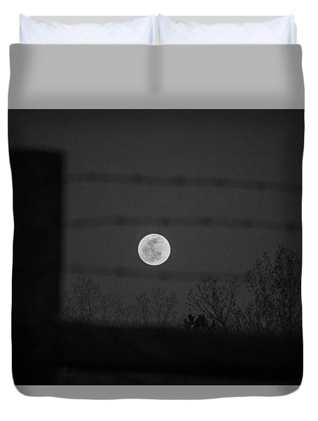 Blood Moon Duvet Cover
