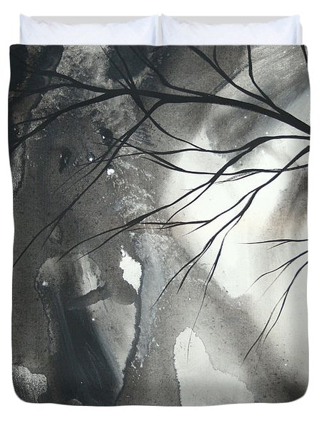 Blood Of The Moon 1 By Madart Duvet Cover
