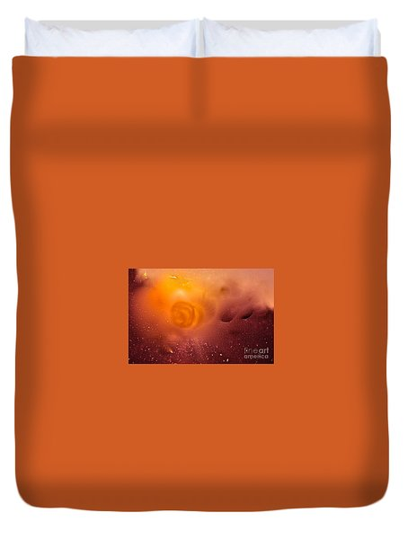 Blood Sun Duvet Cover
