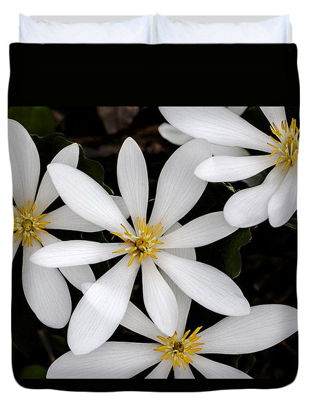 Sanguinaria Duvet Cover