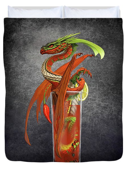 Bloody Mary Dragon Duvet Cover