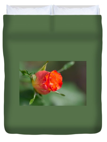 Bloom In October Duvet Cover