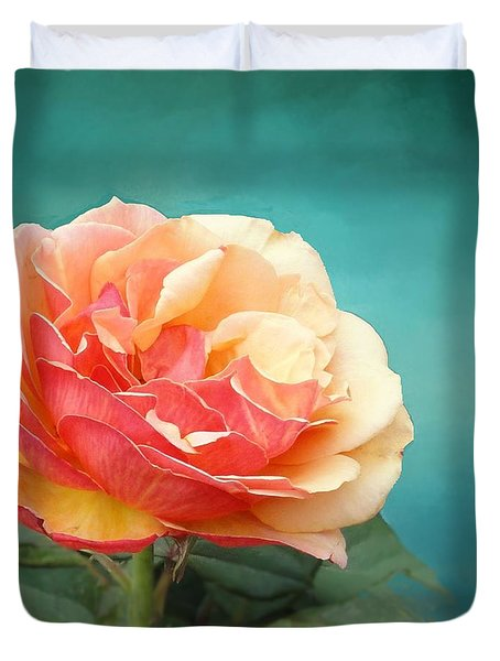 Perfect Rose Of Spring Duvet Cover