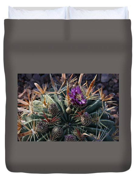 Blooming Barrel Duvet Cover