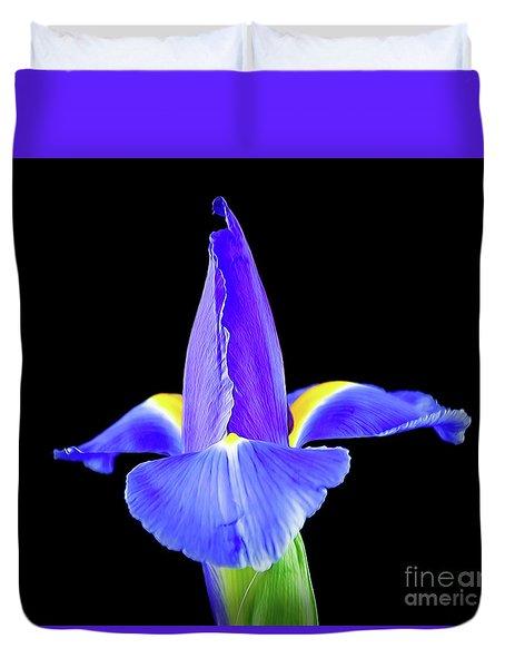 Blooming Iris 1318-1 Duvet Cover