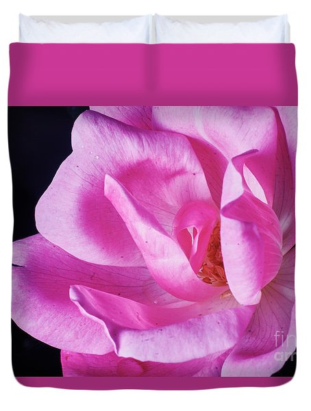 Blooming Rose Duvet Cover