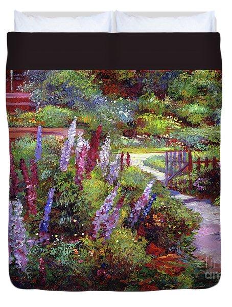 Blooming Splendor Duvet Cover