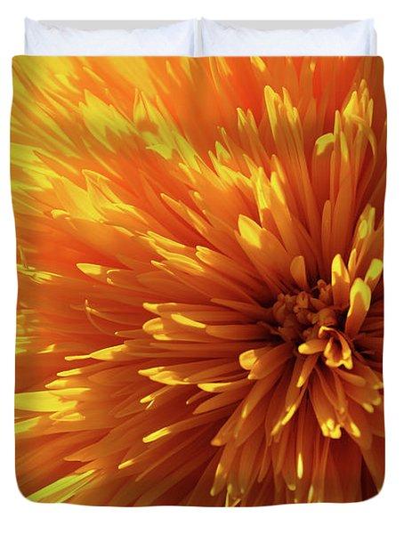 Blooming Sunshine Duvet Cover