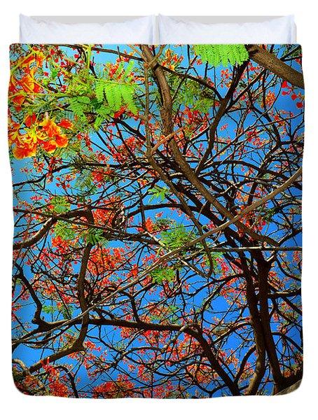 Blooming Tree Duvet Cover