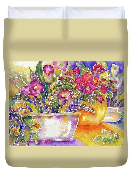 Blooms Duvet Cover