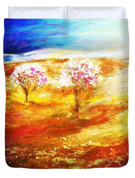 Blossom Dawn Duvet Cover