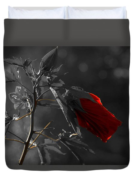 New Life Duvet Cover by Sherman Perry