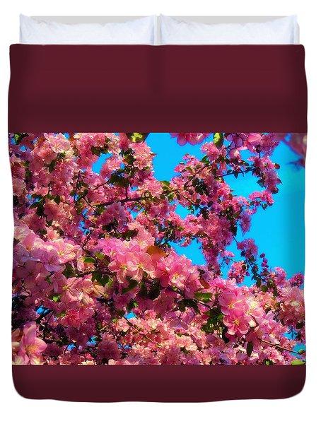Blossom Tops Duvet Cover