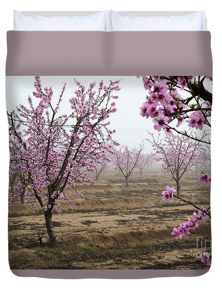 Blossom Trail Duvet Cover