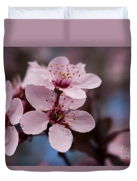 Blossom Trio Duvet Cover