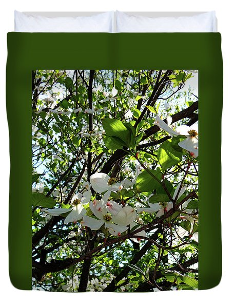 Blossoms 2 Duvet Cover