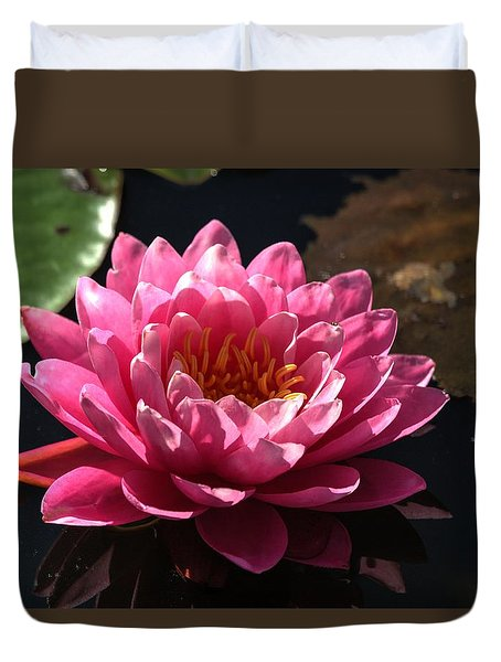 Blossoms And Lily Pads 4 Duvet Cover