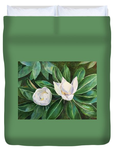 Blossoms In The Sunlight Duvet Cover
