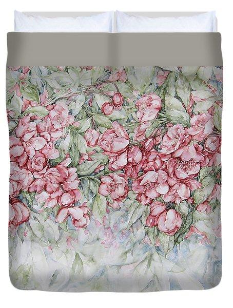 Blossoms Duvet Cover by Kim Tran