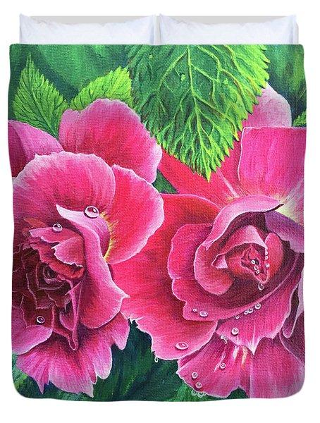 Blossom Buddies Duvet Cover