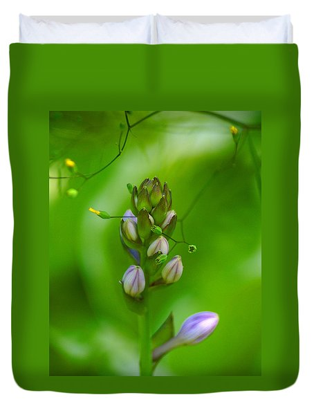 Duvet Cover featuring the photograph Blossom Dream by Ben Upham III