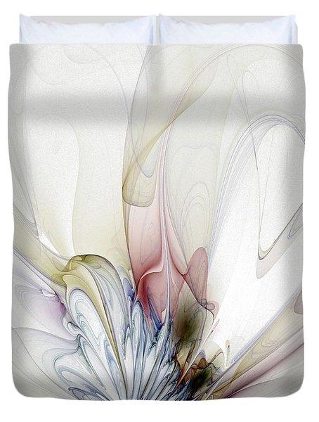 Blow Away Duvet Cover by Amanda Moore