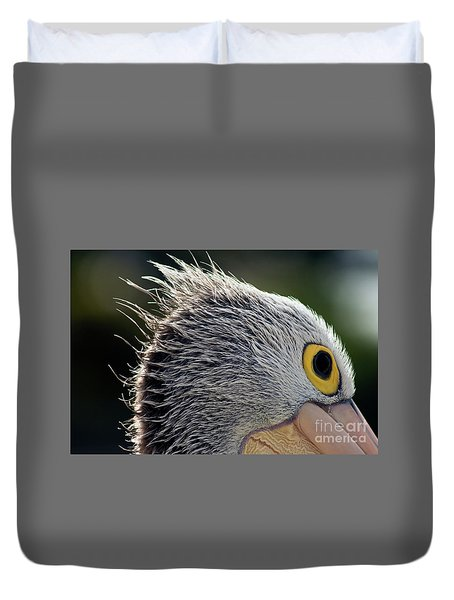 Duvet Cover featuring the photograph Blowin' In The Wind by Stephen Mitchell