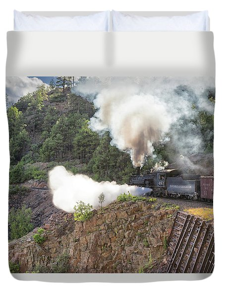 Blowing Down 481 Duvet Cover