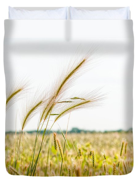 Blowing In The Wind  Duvet Cover by Alex Uhlarik