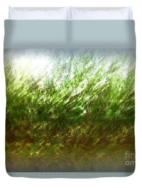 Duvet Cover featuring the photograph Blowing In The Wind by John Krakora