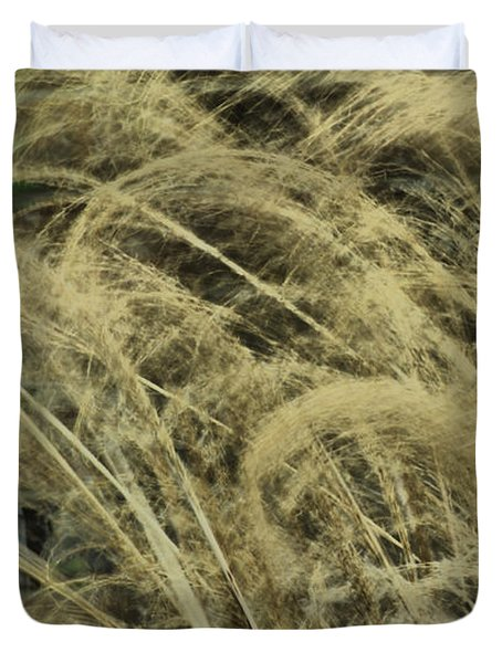 Duvet Cover featuring the photograph Blowing In The Wind by Rick Friedle