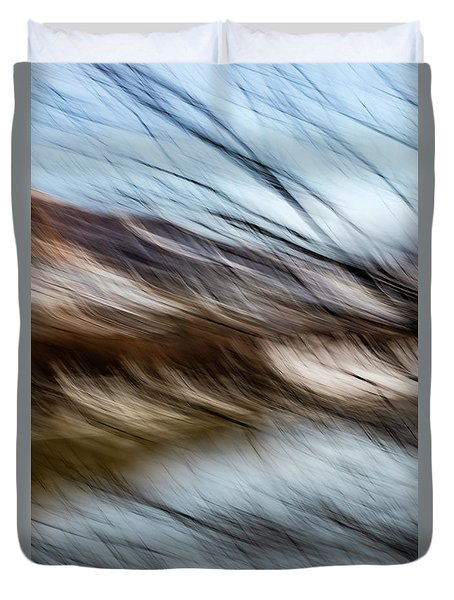 Blown By The Wind Duvet Cover