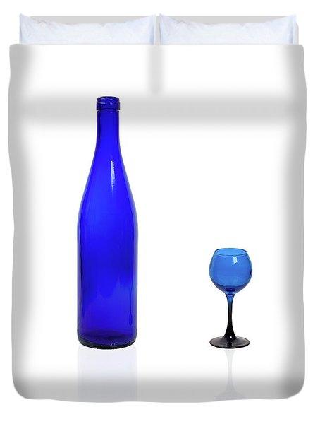 Blue  #2438 Duvet Cover