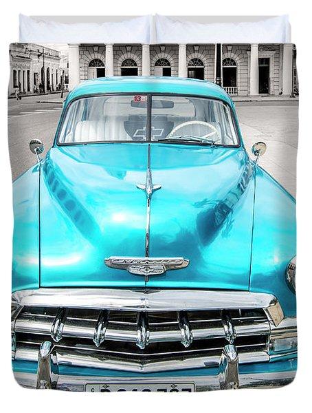 Blue 52 Duvet Cover