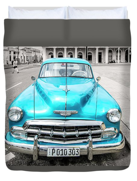 Blue 52 Duvet Cover