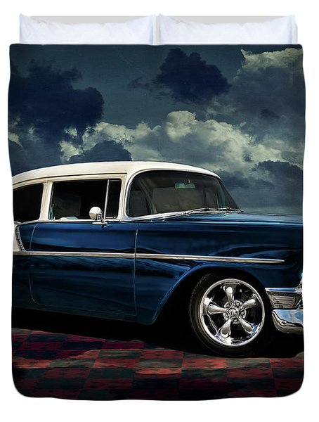 Blue '56 Duvet Cover
