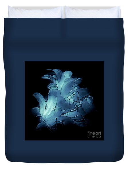 Blue Abstract No. 1 Duvet Cover
