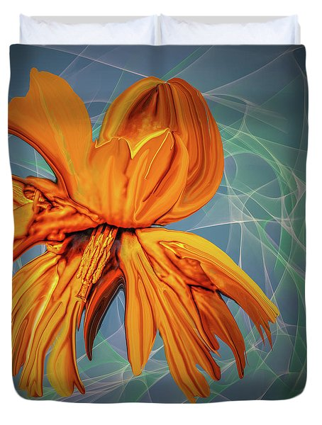 Blue And Yellow #h6 Duvet Cover