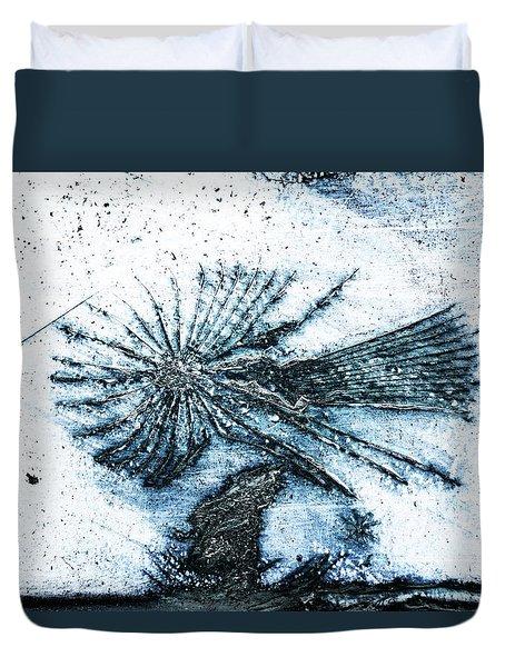 Blue Angel Duvet Cover